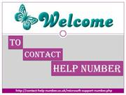 Microsoft Support Number UK @0808-238-7544