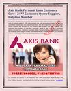Axis Bank Personal Loan Customer   Care 247 Customer Query Support, He