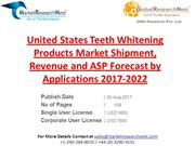 United States Teeth Whitening Products Market Shipment, Revenue and AS