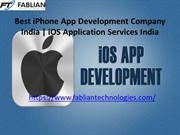Best iPhone App Development Company India