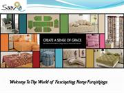 Give Tradition Decor to Home with Ethnic  Furnishing Products- Saavra