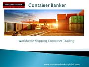 Container Tracking Online