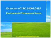What is ISO 14001 Environment Management System?