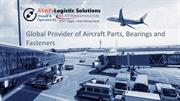 Aircraft & Aerospace Hardware Parts Supplier – ASAP Logistic Solutions