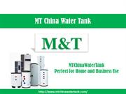 MTChinaWaterTank – High Performance Solar Water Tank Manufacturer