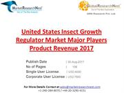 United States Insect Growth Regulator Market Major Players Product Rev