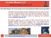 Roofing Contractor Denver CO, Residential Roofing Denver CO