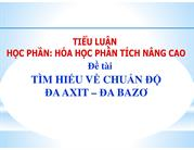 TIM HIEU VE CHUAN DO DA AXIT DA BAZO