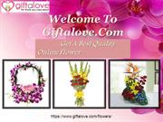 Buy flowers Online at affordable price
