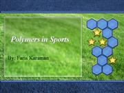Polymers in Sports