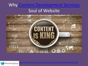 Why Content is Soul of a Website