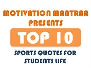 Motivational Sports Quotes For Students Life |Motivation Mantraa
