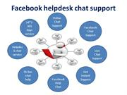 Facebook Helpdesk Chat Support |Online Live Chat Service