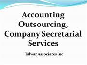 Accounting Outsourcing Services in Delhi | + 91 11 27566140