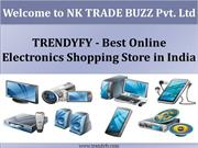 Online Electronics Shopping Store in India- TRENDYFY