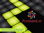 Corporate Office Posters - Business Promotional Poster with Logo