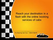 Reach your destination in a flash with the online booking services of