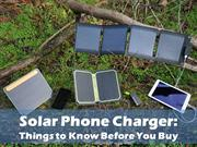 Solar Phone Charger Things to Know Before You Buy
