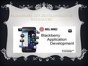 Blackberry app development company in India
