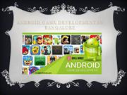 Android Game development Companies In Bangalore