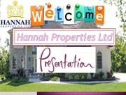 Selling and Buying a Property with Hannah Properties Ltd