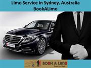 Limo Service in Sydney | BookALimo