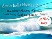 South India Holiday Packages