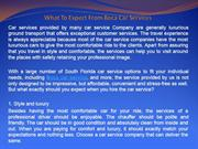 What To Expect From Boca Car Services