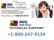 Free Avg Tech Support +1-800-247-9134