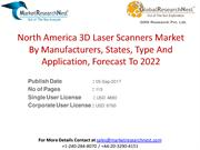 North America 3D Laser Scanners Market By Manufacturers, States, Type