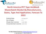 North America PET Type Antiblock Masterbatch Market By Manufacturers,