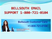 Bellsouth Email Customer Care 1800-721-0104