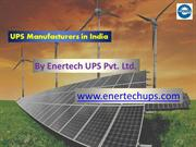 Online UPS Manufacturers in India