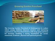 Growing garden preschool