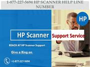 1-877-227-5694 HP scanner help line number