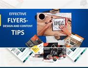 Effective flyers- design and content tips
