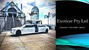 Classic Chrysler Limousine Hire in Melbourne - Exoticar