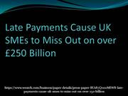 Late Payments Cause UK SMEs to Miss Out on over £250 Billion_5