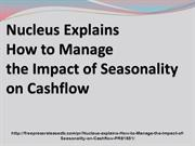 Nucleus explains How to Manage the Impact of Seasonality on Cashflow_1