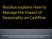 Nucleus explains How to Manage the Impact of Seasonality on Cashflow_5