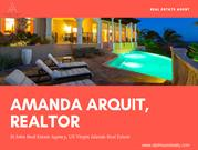 St John Virgin Islands Real Estate - Amanda Arquit, Realtor