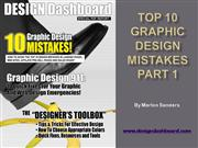 Top 10 Graphic Design Mistakes Part 1