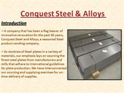 Conquest Steel