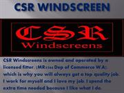 Windscreen replacement & repair