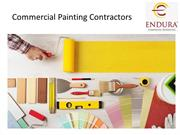 Commercial Painting Contractors Los Angeles