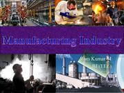 Manufacturing Industry by Ramkumar