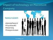 Impact of technology on Placement Company