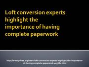 Loft conversion experts highlight the importance-complete paper_4