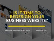 Is It Time to Redesign your Business Website-