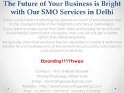 3.The Future of Your Business is Bright with Our SMO Services in Delhi